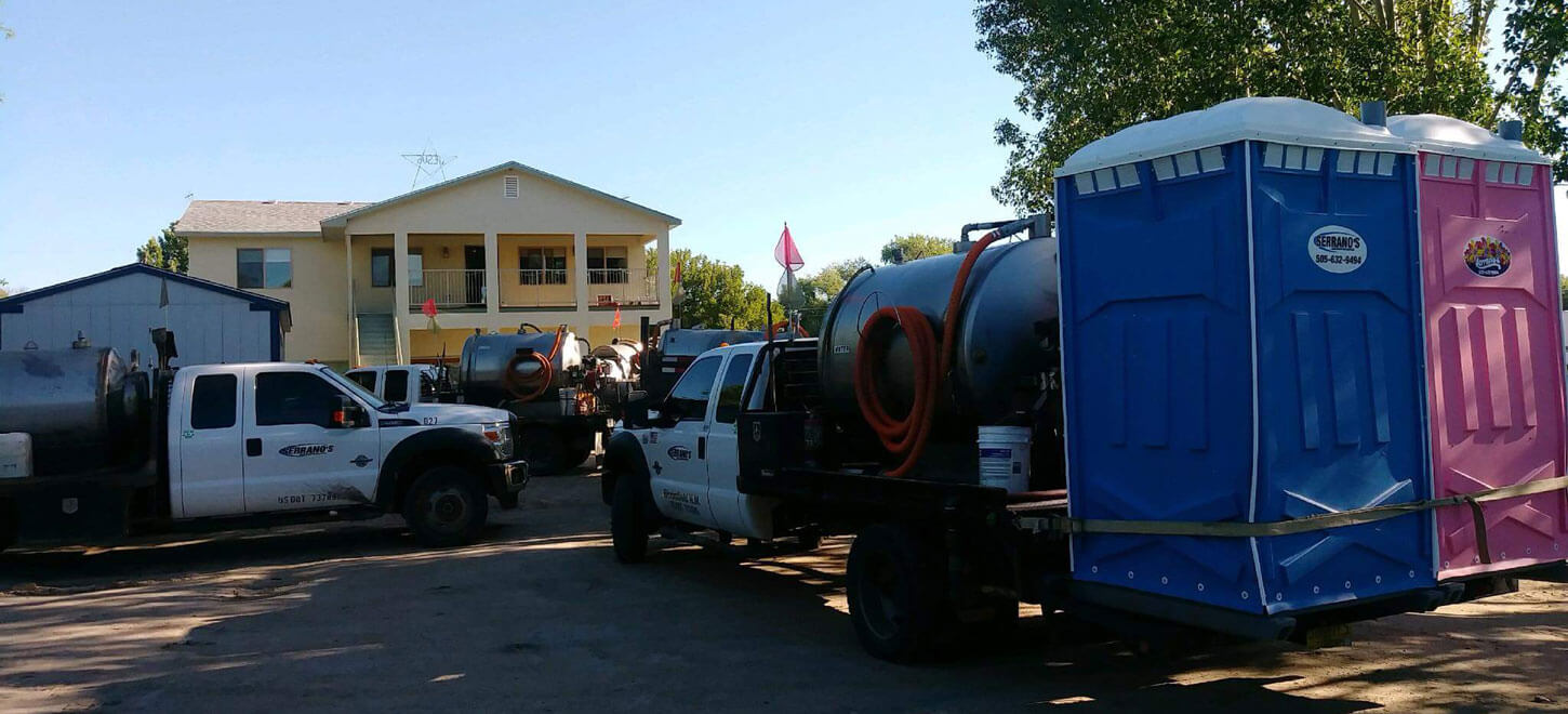 Delivery of Portable Toilets